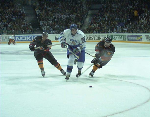 MM-kisoissakin Strömberg oli vaikeasti pideltävä hyökkäävä puolustaja.
