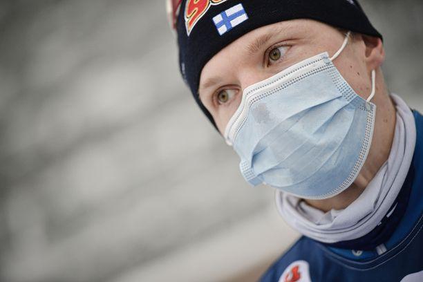 Iivo Niskanen palasi julkisuuteen perjantaina Lahdessa.