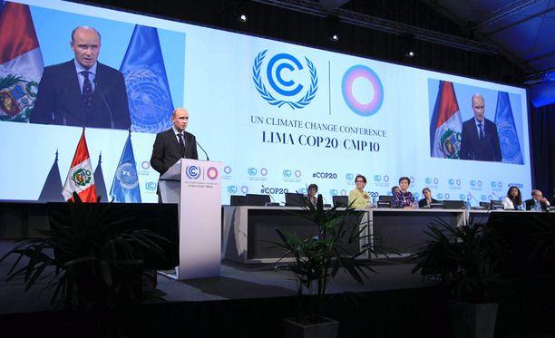 Liman ilmastokokous kestää lähes kaksi viikkoa.