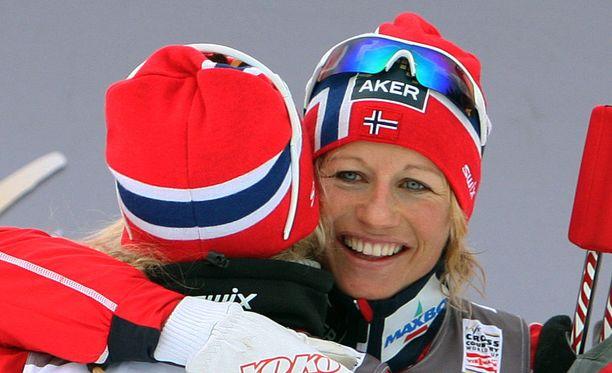 Vibeke Skofterud voitti hiihtourallaan viisi aikuisten arvokisamitalia.