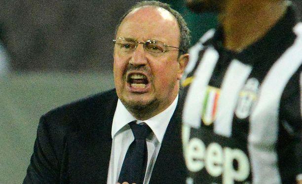 Rafa Benitez siirtyy Koillis-Englantiin.