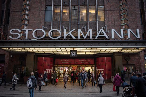 Stockmann oli raskaasti tappiolla alkuvuonna. Kuva Helsingin keskustan tavaratalosta viime vuoden tammikuulta.