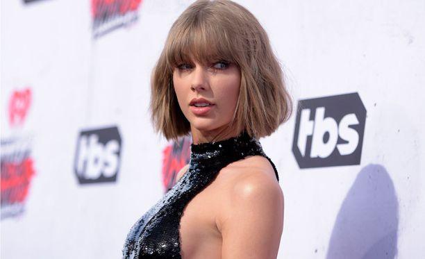 Taylor Swift musiikkialan tapahtumassa viime huhtikuussa.