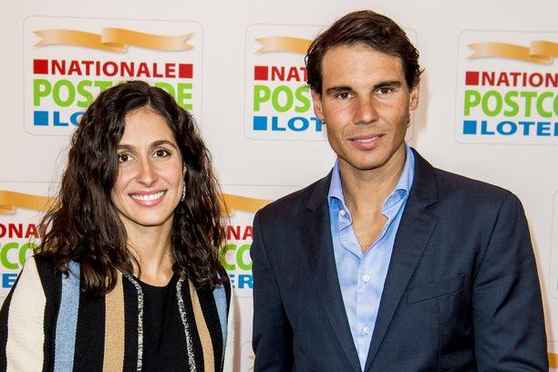 Rafael Nadal ja Mery Perello suunnittelevat syyshäitä.