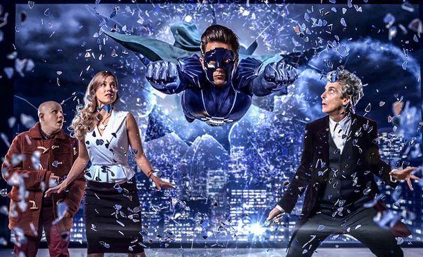 Doctor Who -seikkailuun osallistuu myös supersankari.