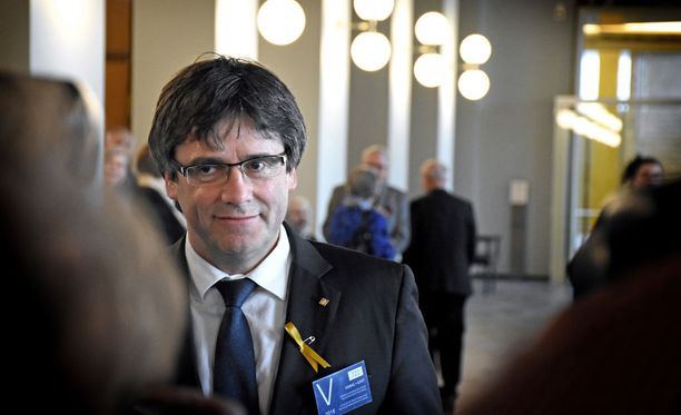 KRP ei kerro, minstä Suomen lainsäädännössä rangaistavasta rikoksesta Puigdemontia epäillään.