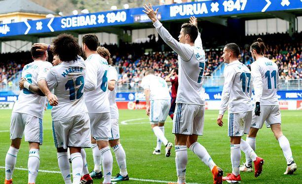 Real Madridin otteet ovat ailahdelleet La Ligassa.