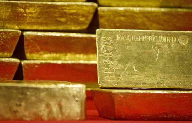 Tutkinnassa takavarikoitiin muun muassa kultaharkkoja. Kuvituskuva.