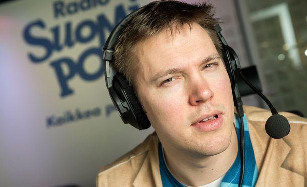 Juha Perälä on Radiosuomipopin suosikkijuontajia.