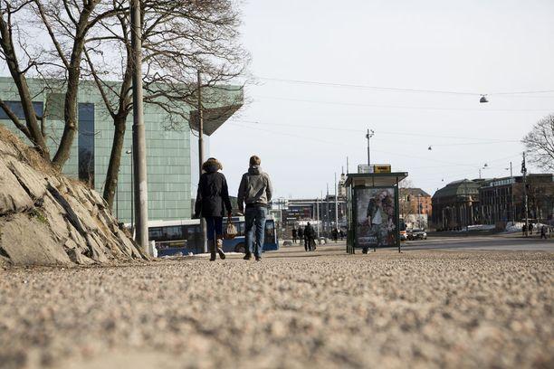Kevät saattaa koittaa Etelä-Suomeen jo ensi viikolla. Kuvituskuva.