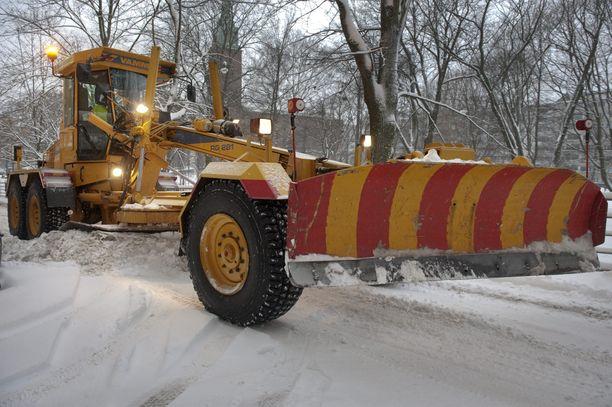 Helsinki on budjetoinut lumitöihin noin 23 miljoonaa euroa.