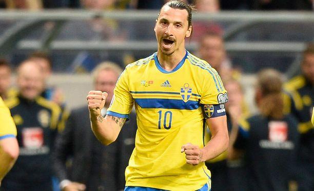 Zlatan Ibrahimovic on kiinnostunut pelaamisesta olympialaisissa.