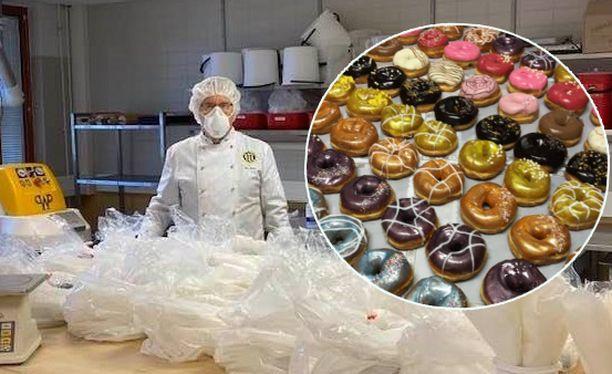 Leipuriopiskelijat ovat kunnostautuneet etäherkkujen teossa tänä keväänä.