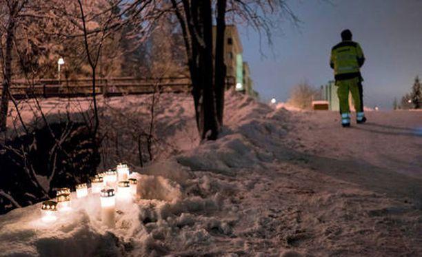 Onnettomuus tapahtui Kuopion Rauhalahdessa.