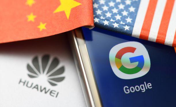 Huawei joutuu yhä ahtaammalle.