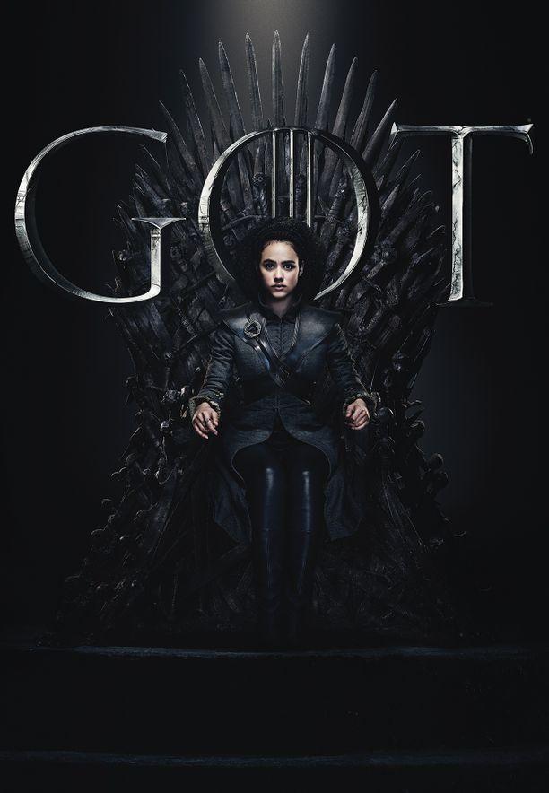 Missandei (Nathalie Emmanuel) tuli mukaan Game of Thronesin kolmannella tuotantokaudella. Vaatteista päätellen Missandein tulee löytämään itsensä kylmistä maisemista.