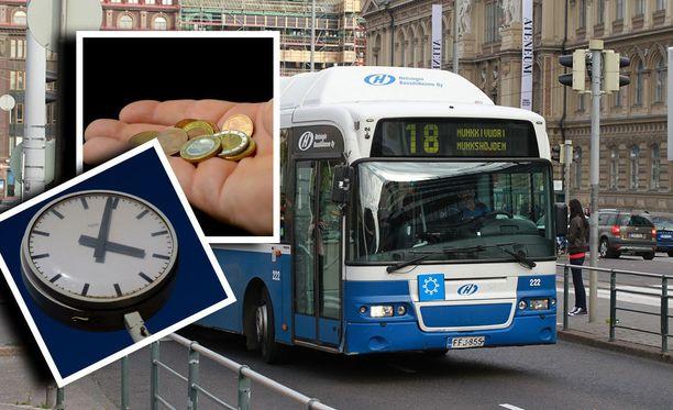 Lippukauppa on käynyt linja-autoyhtiöillä normaalia vilkkaammin etenkin työmatkaliikenteelle olennaisimmille, aamulla ja iltapäivällä ajettaville, vuoroille.