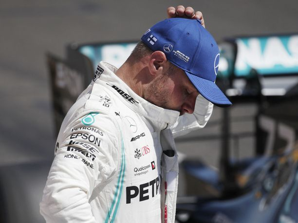 Valtteri Bottas joutui pettymään Ranskan GP:n aika-ajossa.
