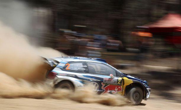 Jari-Matti Latvala ajaa Australiassa viimeistä kisaa Volkswagenilla.