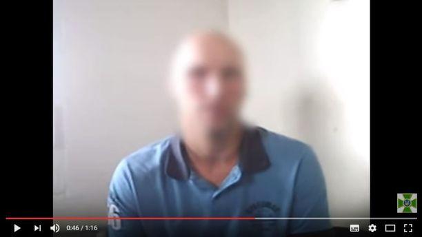 Kuvakaappaus Ukrainan rajavalvontaviranomaisten Youtube-kanavallaan julkaisemasta videosta.