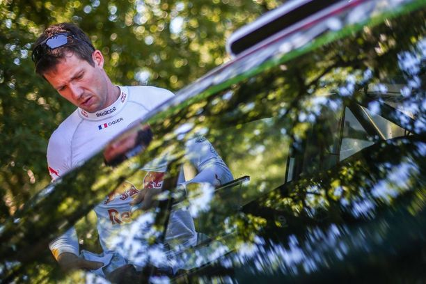 Kuudetta peräkkäistä maailmanmestaruutta tavoitteleva Sébastien Ogier on jäänyt alkukaudella takaa-ajajan rooliin.