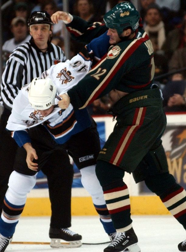Matt Johnson keräsi NHL-urallaan yli 1 500 jäähyminuuttia.