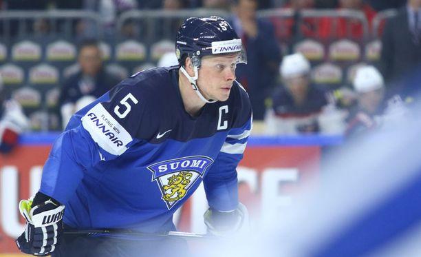 Lasse Kukkonen on Leijonien kapteeni.