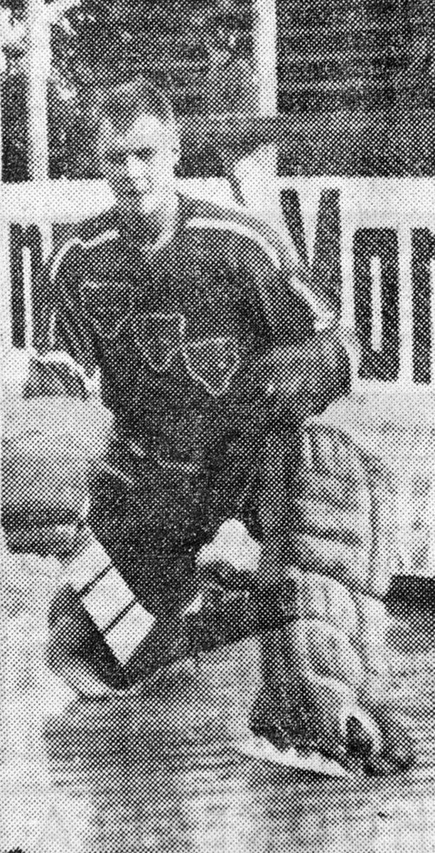 Matti Jansson torjui Porin Karhuille SM-kultaa.