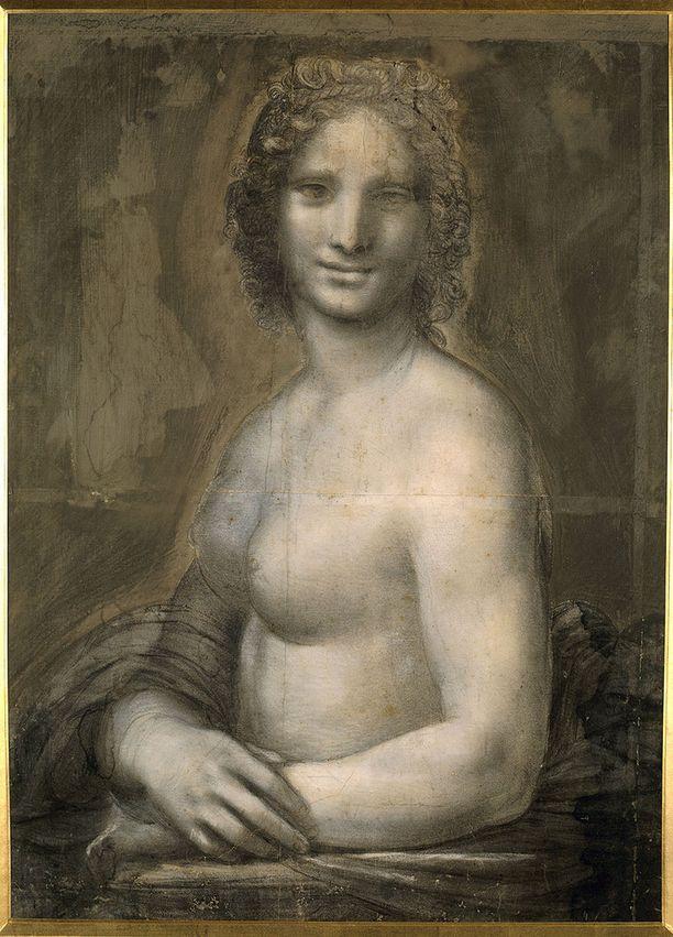 Louvren taideasiantuntijoiden mukaan Mona Vannan kädet ja vartalo ovat lähes identtiset Mona Lisan kanssa.