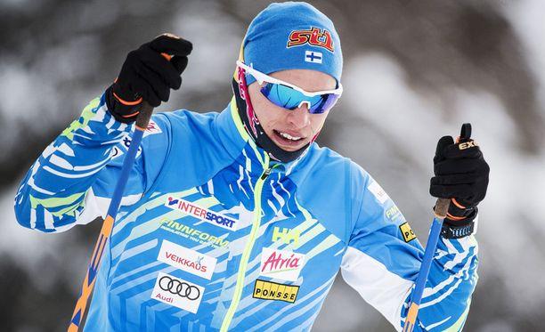 Iivo Niskanen on uhkunut huimaa alkukauden virettä Suomen cupin kisoissa.