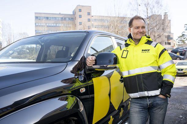 Timo Hakkarainen on Bolt.Worksin co-founder ja liiketoimintajohtaja.