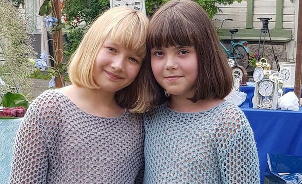 Annelina nähdään uutuuselokuvassa Olga Ritvanen ja Onnelina Celina Fallström. Tytöt eivät tunteneet toisiaan entuudestaan, mutta ystävystyivät kuvauksissa.