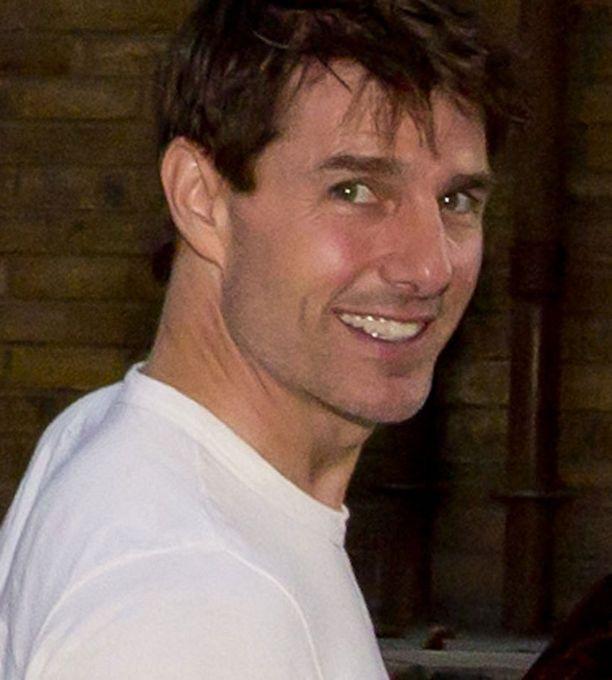Tom Cruise ei ollut välikohtauksen aikaan kotona.
