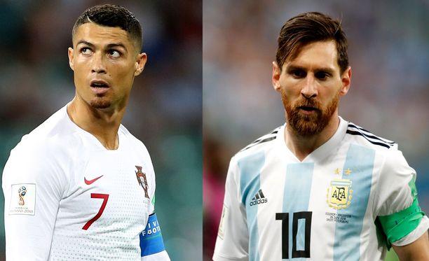 Cristiano Ronaldon ja Lionel Messin kisat päättyivät ennen aikojaan.