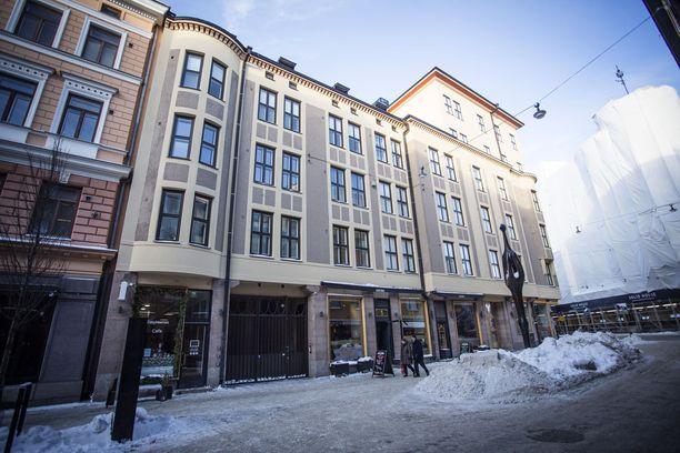 Hotellin tapaan toiminut yritys vuokrasi yhtätoista asuntoa Helsingin keskustassa aivan Erottajan kupeessa.