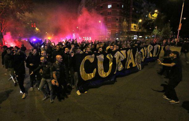 Yksi Inter-kannattaja kuoli eilen fanien yhteenotossa.