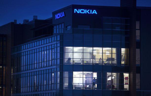 Nokian pääkonttori Espoon Karakalliossa.