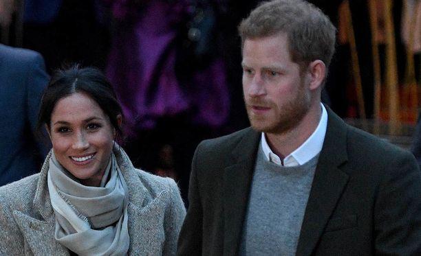 Prinssi Harry ja Meghan Markle julkaisivat kihlauksensa marraskuussa.
