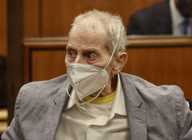 Robert Durst oikeudenkäynnissä Kaliforniassa syyskuun 8. päivänä.