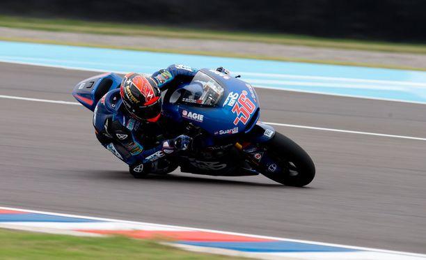 Mika Kallio ajoi Argentiinassa kauden toistaiseksi parhaan aika-ajosijoituksensa.