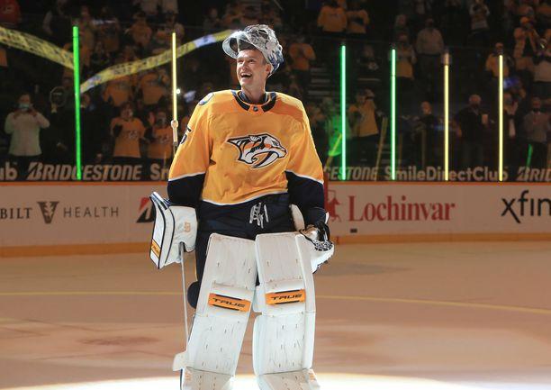 Pekka Rinne on osallistunut Nashvillessä lukuisiin hyväntekeväisyystempauksiin.