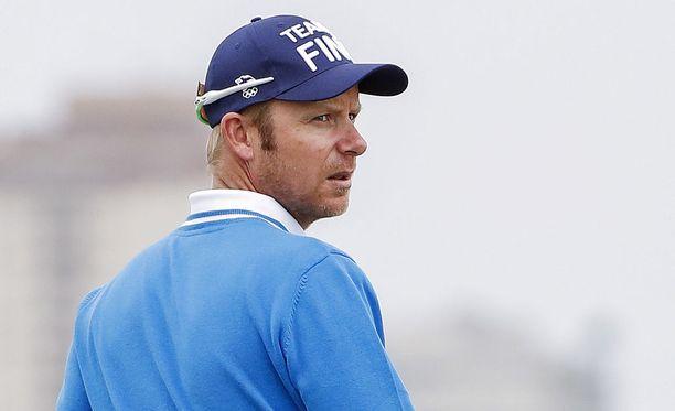 Mikko Ilonen löi ensimmäisellä kierroksella 70 kertaa.