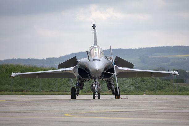 Dassault Rafale on ranskalainen neljännen sukupolven kaksimoottorinen hävittäjä.