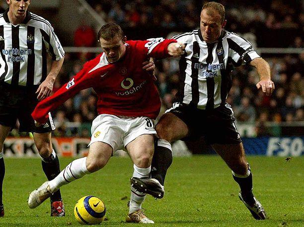 Wayne Rooney ja Alan Shearer