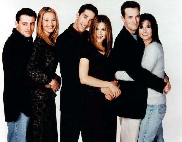 Alkuperäistä Frendit-sarjaa tehtiin vuosina 1994-2004.