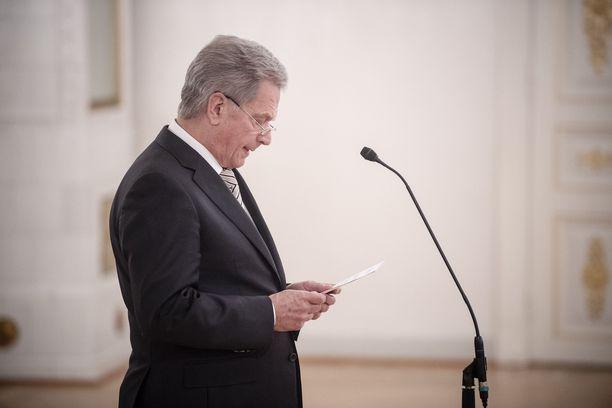 Sauli Niinistö on kommentoinut Bagdadin tapahtumia tiedotteessa.