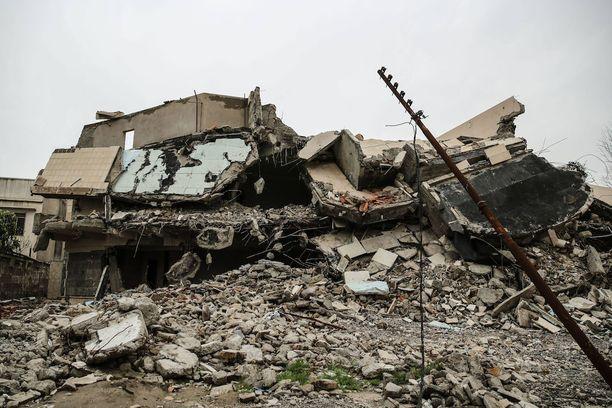 Mosul on tuhoutunut lähes täysin.