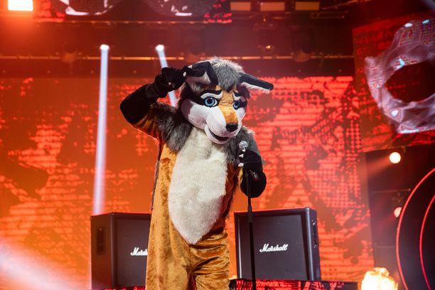 Kettu putosi ensimmäisenä Masked Singerin uudella kaudella.
