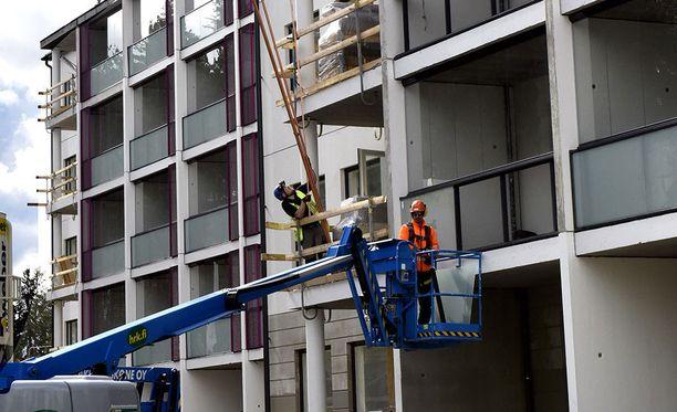 Pohjola Rakennus Oy tekee kahta kerrostaloa Tampereen Atalaan. Rakentaminen. Asuntorakentaminen. Kerrostalo