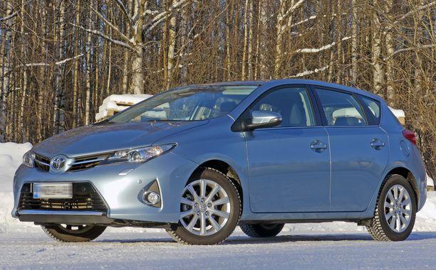 Toyota Auris oli ainoana ei-saksalaisena kymmenen parhaan joukossa.